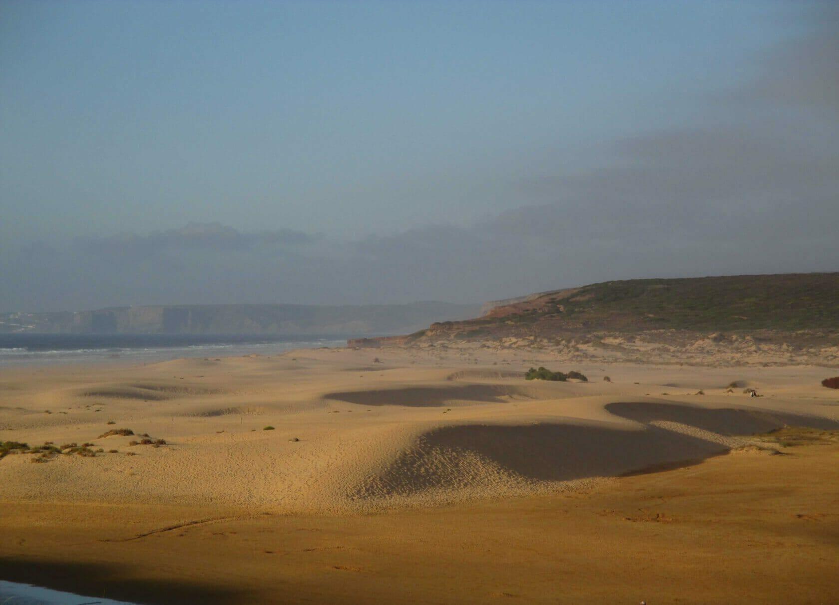 Weiter Algarve Sandstrand