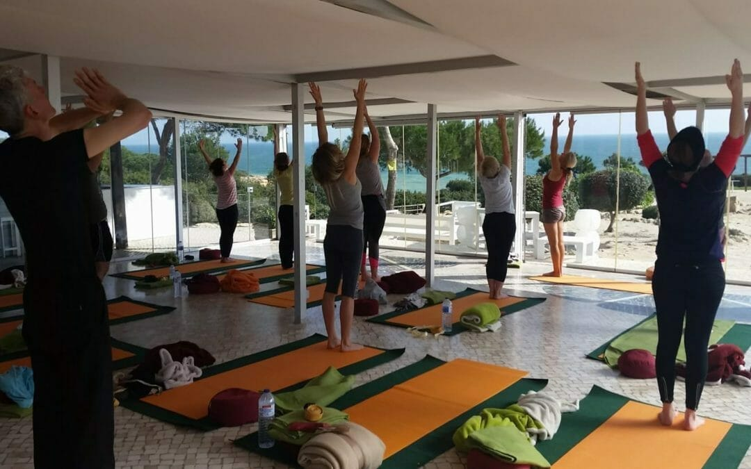 Sonnengrüße Yoga-Lounge Suites Alba