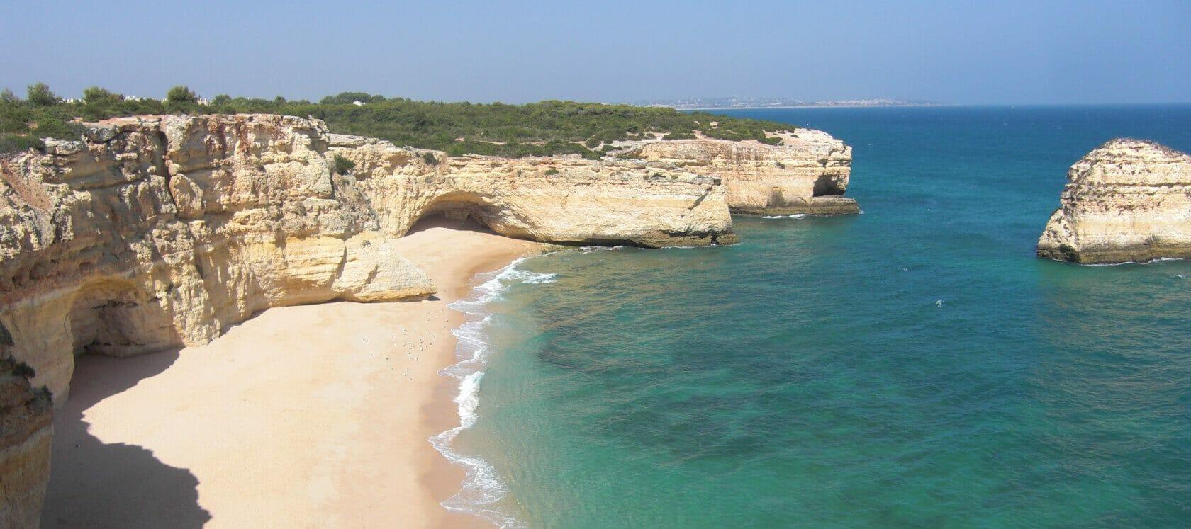 Algarve Felsenstrand